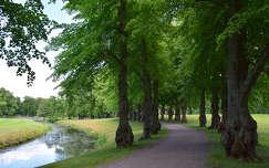 Kastélykert, Drottningholm, Svédország