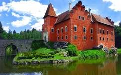Èervená Lhota kastély, Csehország