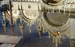 szent márk bazilika olaszország tükröződés velence világörökség templom