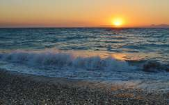 Rodosz - naplemente