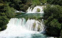 horvátország krka nyár krk-sziget