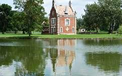 magyarország ház dégi festetics-kastély várak és kastélyok dég tükröződés