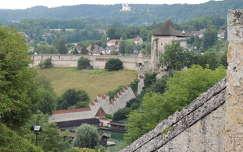 Kilátás a Burghauseni várból,Németország