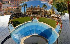 Monaco,Monte Carlo,Casino a tükörben