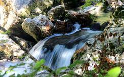 kövek és sziklák patak alpok szlovénia