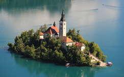 alpok tó templom szlovénia bledi-tó