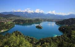 alpok tó szlovénia nyár bledi-tó