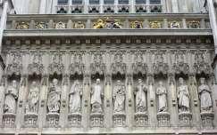 Anglia, London - Westminster-apátság részlete