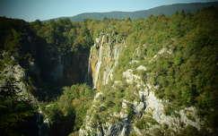 Nagy vízesés, Plitvice, Horvátország
