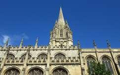 Anglia, Oxford - Szűz Mária egyetemi templom