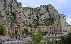 Montserrat kolostor - Spanyolország