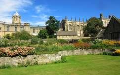 Anglia, Oxford - Christ Church Kollégium udvara