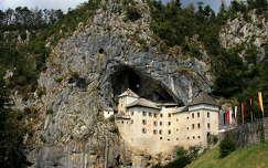alpok kövek és sziklák szlovénia predjama vár várak és kastélyok