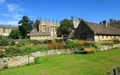 Anglia, Oxford - Christ Church Koll�gium udvara