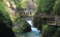 út alpok szurdok szlovénia folyó