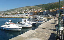 Kikötő, Senj, Croatia