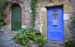 Katalán ajtók, Tossa de Mar