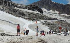 Ausztria,Hintertux gleccser nyáron