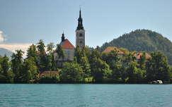 Nagyboldogasszony-templom, Bled, Szlovénia