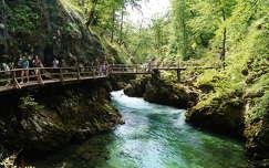 Vintgar-szurdok, Bled, Szlovénia