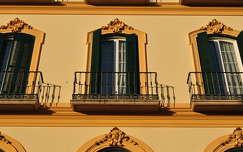 Laza de la Merced, Malaga, Andalúzia