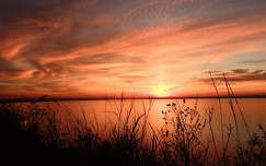 tó naplemente balaton