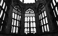 Egykori katedrális romja. Coventry, Egyesült Királyság.