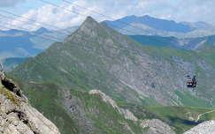 Hintertux gleccsertől  a kilátás,Ausztria