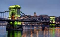 Széchenyi lánchíd a zöld percben-Budapest