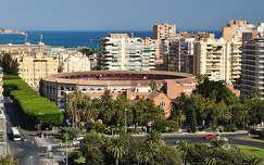 Málaga, Andalúcía, Plaza de Toros, Spanyolország