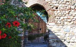 Málaga, Alcazaba, Andalúzia, Sapanyolország