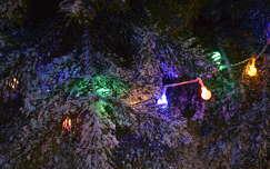 éjszakai képek karácsonyi dekoráció