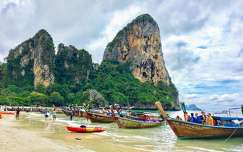 Thaiföld,Krabi,Railay beach