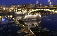 Margit híd - jégzajlás