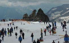 Hintertux gleccser nyáron,Ausztria