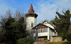 a Véghely villa Balatonalmádi, Magyarország