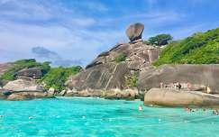 Thaiföld, Similan sziget