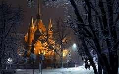 Szolnok - hóesés