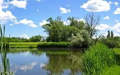 tükröződés tó