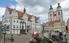 Wittenberg, a Városháza tere