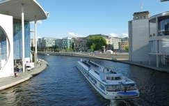 A Spree a Bundestagnál, Berlin