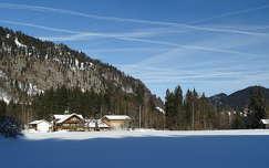 ház tél hegy