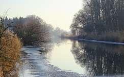 tél jég folyó