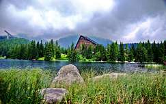 csorba-tó szlovákia kárpátok tó tátra