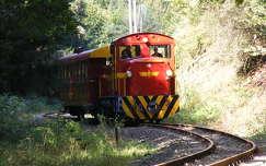 sínpár vonat