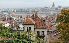 Kilátás az Erdélyi bástyáról,Budapest