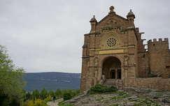 Javier vára, főbejárat, Navarra, Spanyolország
