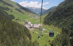 Ausztria,Hintertux indulóállomása