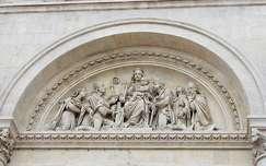 Pécs - Bazilika részlet