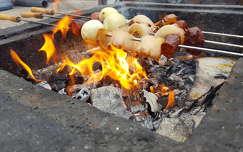tűz étel